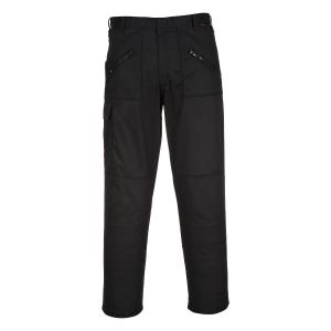 Pantalon de travail Portwest S887, noir, taille RU 28/taille BE/PB 44, la pièce