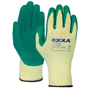 Gants Oxxa X-Grip 51-000 polyvalents, enduciton latex, taille 11, par 12 paires
