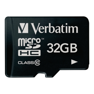 Verbatim micro carte SDHC 32GB