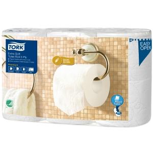 Tork Premium extra soft papier hygiènique sur rouleau 3-plis - paquet de 6