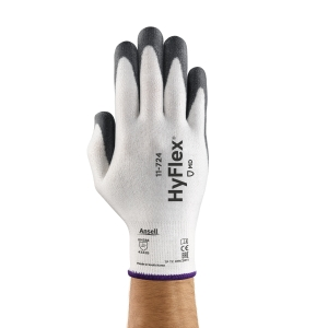 Gants Ansell Hyflex 11-724 anti-coupure, enduction PU, taille 8, 12 paires