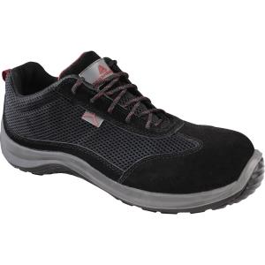 Delta Plus Asti S1P chaussures de sécurité noir/rouge - taille 41 - la paire