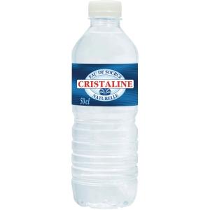 Cristaline eau plate 0,5L - paquet de 24