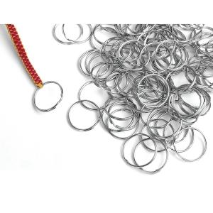 Colorations porte-clés en metal 25 mm - le paquet de 144