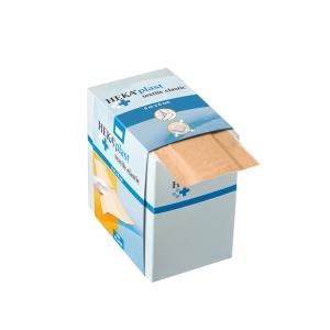 HEKA PLAST sparadrap en textile avec distributeur - 6cm x 5m