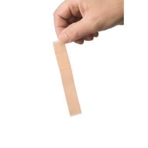HEKA PLAST sparadrap en textile pour doigts 2 x 12 cm - boîte de 100 pièces