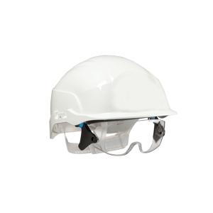 Casque de sécurité combiné Centurion Spectrum, blanc