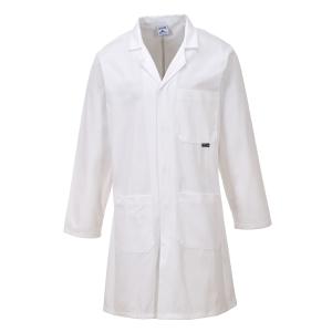 Veste de labortoire Portwest C851, blanc, taille XL, la pièce