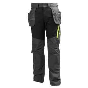 Pantalon de construction Helly Hansen Aker, anthracite/noir, taille 50, la pièce