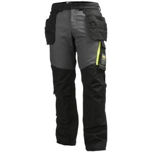 Pantalon de construction Helly Hansen Aker, noir/anthracite, taille 44, la pièce
