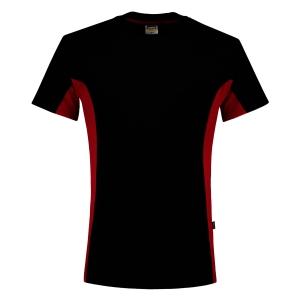 T-shirt Tricorp TT2000 Bi-Color, noir/rouge, taille 3XL, la pièce