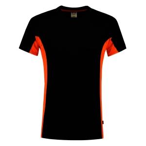 T-shirt Tricorp TT2000 Bi-Color, noir/orange, taille L, la pièce