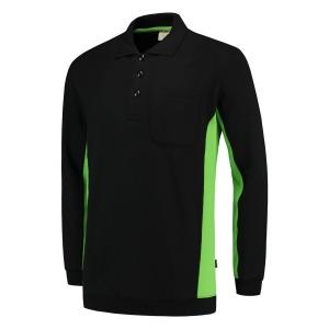 Pull Tricorp TS2000 Bi-Color, noir/vert, taille L, la pièce