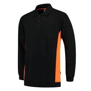 Pull Tricorp TS2000 Bi-Color, noir/orange, taille 7XL, la pièce