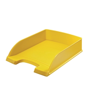 Leitz 5227 bac à courrier jaune