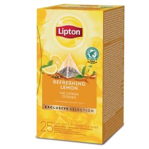 Lipton Exclusive Selection Refreshing Lemon - La boite de 25 sachets
