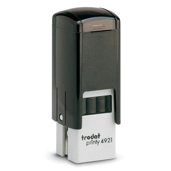 Trodat Printy 4921 tampon personnalisable 12 x 12mm 2 lignes