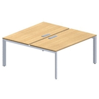 Essentiel bench bureau 180 x 165 cm wit