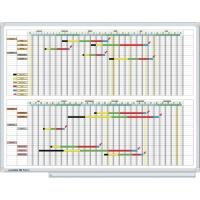 Legamaster 406000 planbord jaarplanner 52 kolommen/weken 90x120cm