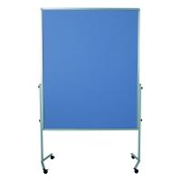 Legamaster Premium Mobile moderatiebord vilt 150x120 cm blue grey