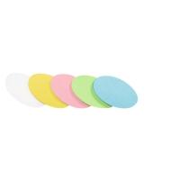 Legamaster ovaal moderatiekaarten assorti kleuren - pak van 500