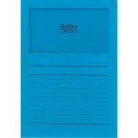 Elco 420502 Ordo L-mapjes met venster blauw - doos van 100