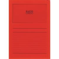 Elco 420507 Ordo L-mapjes met venster rood - doos van 100