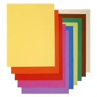 Exacompta Flash vouwmappen gerecycleerd karton 80g assorti - pak van 100