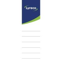Lyreco zelfklevende etiketten voor ordners 80mm - pak van 10