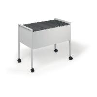 Durable Hangmappenwagen voor 60-80 A4 hangmappen grijs