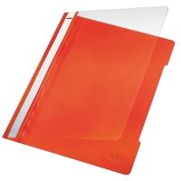Leitz 4191 snelhechtmap A4 PVC oranje