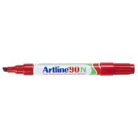 Artline 90N permanente marker beitelpunt 2 - 5 mm rood