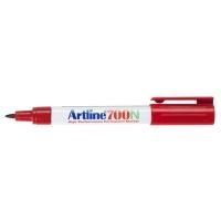 Artline 700N permanente marker ronde punt 0,7mm rood