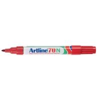 Artline 70N permanente marker ronde punt 1,5 mm rood