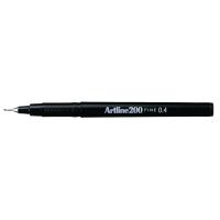Artline Fineliner 200 0,4mm zwart