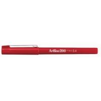 Artline Fineliner 200 0,4mm rood