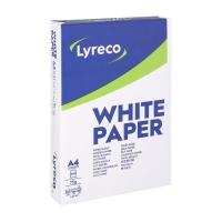 Lyreco multifunctioneel papier A4 75g - 1 doos = 5 pakken van 500 vellen
