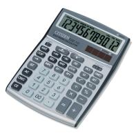 Citizen CCC112 kantoorrekenmachine kost/omzet/marge zilvergrijs - 12 cijfers