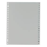 IndX alfabetische tabbladen PP 23-gaats
