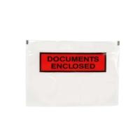 Zelfklevende paklijsthoesjes 240x165mm bedrukt - doos van 1000