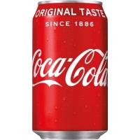 Coca-Cola frisdrank blikje 33 cl - pak van 24