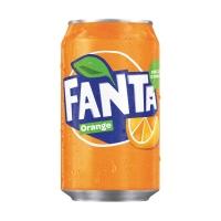 Fanta Orange frisdrank blikje 33 cl - pak van 24