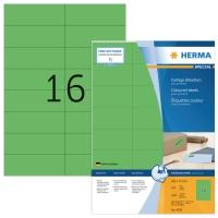 Herma 4259 gekleurde etiketten 105x37mm groen - doos van 1600