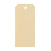Amerikaanse etiketten met oogje voor verzending 70x140mm gems - doos van 1000