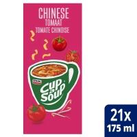 Cup-a-soup zakjes soep Chinese tomaat - doos van 21