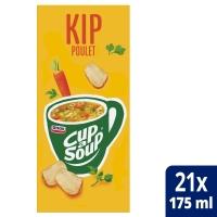 Cup-a-soup zakjes soep kip - doos van 21