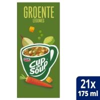 Cup-a-soup zakjes soep groenten - doos van 21