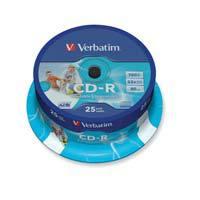 Verbatim CD-R 700MB (80min.) - pak van 25