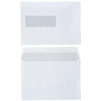 FSC enveloppen 156x220mm siliconenstrook venster links 80g - doos van 500