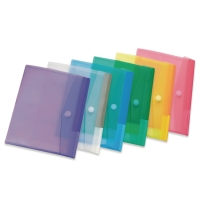 Tarifold enveloppen PP A5 transparant - pak van 6